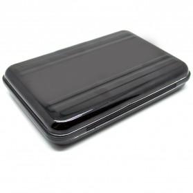 Kotak Metal Penyimpan SD & Micro SD 8 Slot - 421 - Black/Black - 2