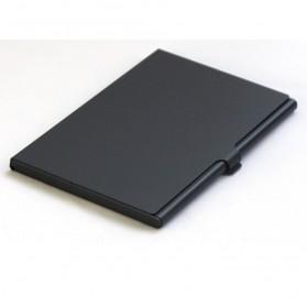 Kotak SIM Card Metal untuk 2 Standard+ Micro + Nano + Sim Eject - Silver - 3
