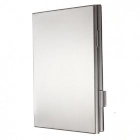Kotak SIM Card Metal untuk 2 Standard+ Micro + Nano + Sim Eject - Silver - 5