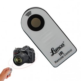 Remote Switch / Remote Shutter - Lynca Wireless IR Camera Remote Controller for Nikon Sony Canon Pentax - Black/Silver