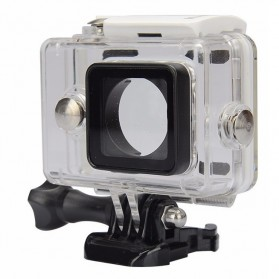 KingMa Underwater Waterproof Case IPX68 40m for Xiaomi Yi Sports Camera - White