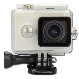 KingMa Underwater Waterproof Case IPX68 40m for Xiaomi Yi Sports Camera - White - 2