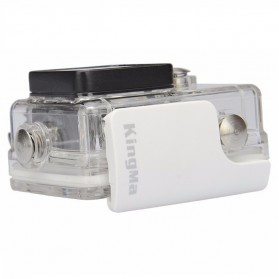 KingMa Underwater Waterproof Case IPX68 40m for Xiaomi Yi Sports Camera - White - 3