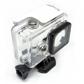 KingMa Underwater Waterproof Case IPX68 40m for Xiaomi Yi Sports Camera - White - 4