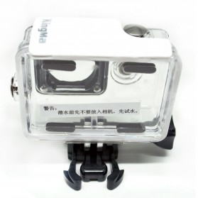 KingMa Underwater Waterproof Case IPX68 40m for Xiaomi Yi Sports Camera - White - 6
