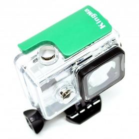 KingMa Underwater Waterproof Case IPX68 40m for Xiaomi Yi Sports Camera - Green - 2