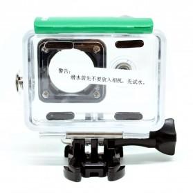 KingMa Underwater Waterproof Case IPX68 40m for Xiaomi Yi Sports Camera - Green - 4