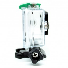 KingMa Underwater Waterproof Case IPX68 40m for Xiaomi Yi Sports Camera - Green - 6