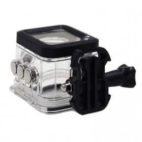 Underwater Waterproof Case 30M for SJCAM M10 Sports Camera - Transparent - 4