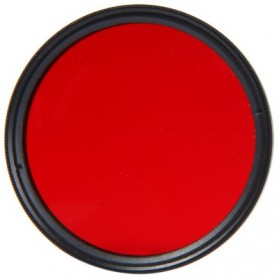 UV Filter Lens 52mm Color for Xiaomi Yi - Red - 2