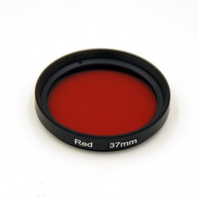 UV Filter Lens 37mm Color for Xiaomi Yi - Red