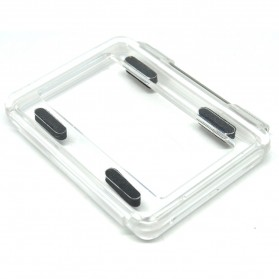 Back Cap Waterproof Case for Xiaomi Yi Waterproof Case - Transparent