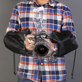 Rainproof Dust Protector for DSLR Camera - Black - 6