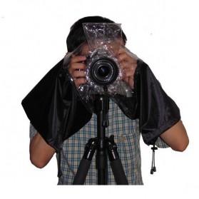 Rainproof Dust Protector for DSLR Camera - Black - 7