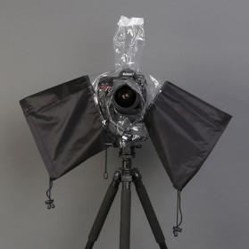 Rainproof Dust Protector for DSLR Camera - Black - 10
