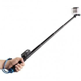 Monopod with Wireless Remote Control Slot 93cm for GoPro / Xiaomi Yi / Xiaomi Yi 2 4K - Black - 3