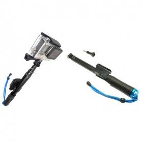 Monopod with Wireless Remote Control Slot 93cm for GoPro / Xiaomi Yi / Xiaomi Yi 2 4K - Black - 4
