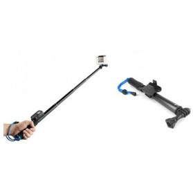 Monopod with Wireless Remote Control Slot 93cm for GoPro / Xiaomi Yi / Xiaomi Yi 2 4K - Black - 6