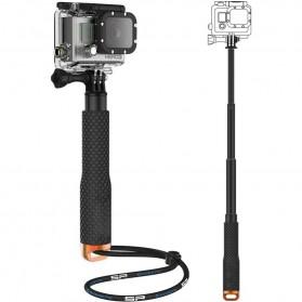 Metal Lid Pov Extendable Pole Monopod 48 cm for GoPro / Xiaomi Yi / Xiaomi Yi 2 4K - Orange