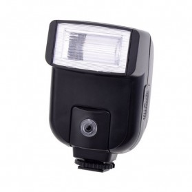Mini Flash 5600k for Camera Canon Nikon SLR - CY-20 - Black