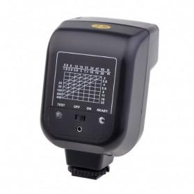 Mini Flash 5600k for Camera Canon Nikon SLR - CY-20 - Black - 2