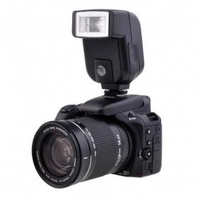 Mini Flash 5600k for Camera Canon Nikon SLR - CY-20 - Black - 3