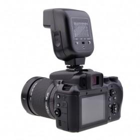 Mini Flash 5600k for Camera Canon Nikon SLR - CY-20 - Black - 4