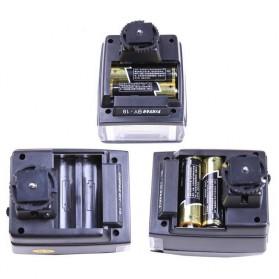 Yinyan Mini Flash Kamera 5600K Untuk DSLR Canon Nikon - BY-18 - Black - 4