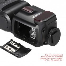 Yinyan Flash Kamera Zoom Speedlite 5600K Untuk DSLR Canon Nikon - CY-450M - Black - 4