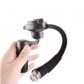 Plastic Handheld Curve Stabilizer for GoPro/Xiaomi Yi/Xiaomi Yi 2 4K - Black - 3
