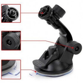 Forauto Suction Cup Car Holder Mobil Kamera Aksi for GoPro / Xiaomi Yi / Xiaomi Yi 2 4K / SJCAM - XTGP51 - Black - 4