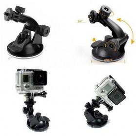 Forauto Suction Cup Car Holder Mobil Kamera Aksi for GoPro / Xiaomi Yi / Xiaomi Yi 2 4K / SJCAM - XTGP51 - Black - 5