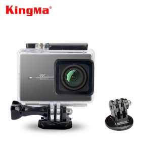 Kingma Underwater Waterproof Case IPX-8 60m for Xiaomi Yi 2 4K / Xiaomi Yi Lite - Black