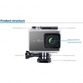 Kingma Underwater Waterproof Case IPX-8 60m for Xiaomi Yi 2 4K / Lite / Discovery - Black - 10
