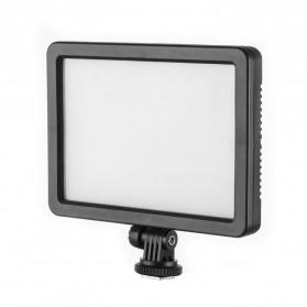 Hersmay Professional Photography LED Flashlight 3200k-5600k - PC-K128C - Black - 6