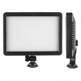 Hersmay Professional Photography LED Flashlight 3200k-5600k - PC-K128C - Black - 7