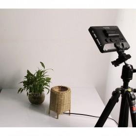 Hersmay Professional Photography LED Flashlight 3200k-5600k - PC-K128C - Black - 10