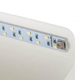 Photo Studio Mini Magnetic dengan Lampu LED Size Small - White - 2