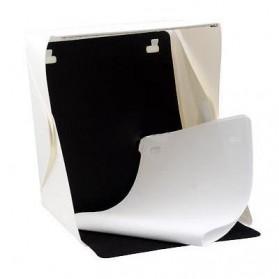 Photo Studio Mini Magnetic dengan Lampu LED Size Small - White - 7