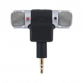 Mikrofon Kondenser External GoPro Hero 3/3+/4 - 888 - Black