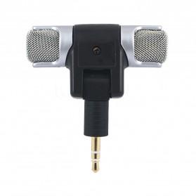 Mikrofon Kondenser External GoPro Hero 3/3+/4 - 888 - Black - 2