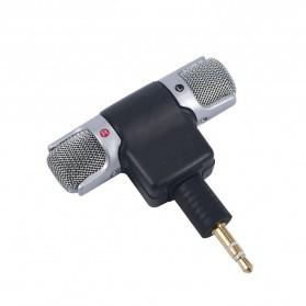 Mikrofon Kondenser External GoPro Hero 3/3+/4 - 888 - Black - 3