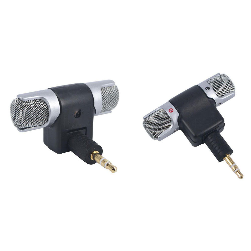 Mikrofon Kondenser External Gopro Hero 3 4 Black Kabel 35mm Mic Adapter Cable For 5