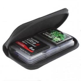 ONLENY Tas Dompet Penyimpanan Memori Card - 8555 - Black