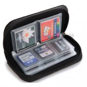 ONLENY Tas Dompet Penyimpanan Memori Card - 8555 - Black - 2