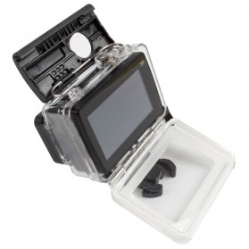 PULUZ Underwater Touchscreen Waterproof Case 40m for Xiaomi Yi 2 4K / Lite / Discovery - AZ160 - Black - 3