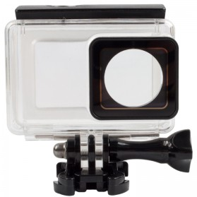 PULUZ Underwater Touchscreen Waterproof Case 40m for Xiaomi Yi 2 4K / Lite / Discovery - AZ160 - Black - 5