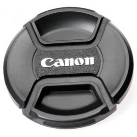 Cover Tutup Lensa Kamera Canon 67mm - Black - 3