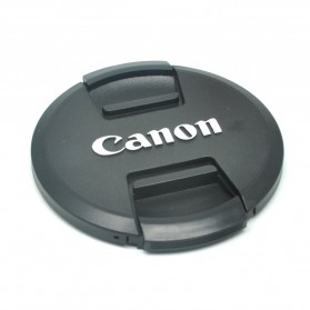 Cover Tutup Lensa Kamera Canon 82mm - Black