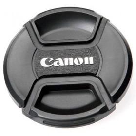 Cover Tutup Lensa Kamera Canon 82mm - Black - 3